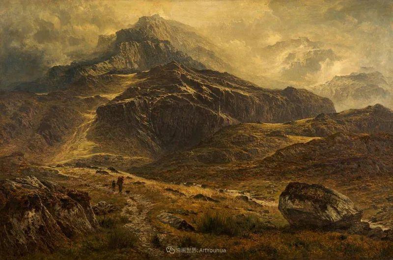 乡野颂歌,横跨两个世纪的著名英国风景画家插图45