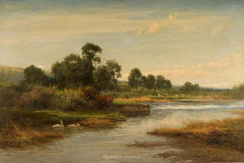 乡野颂歌,横跨两个世纪的著名英国风景画家插图47