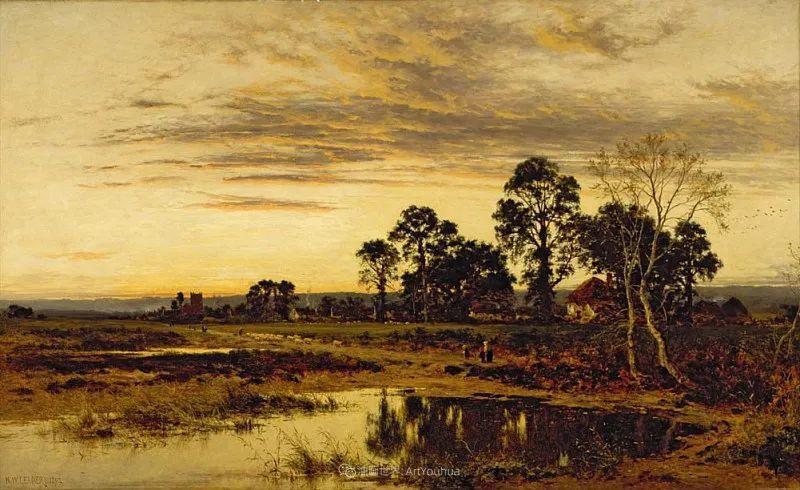乡野颂歌,横跨两个世纪的著名英国风景画家插图49