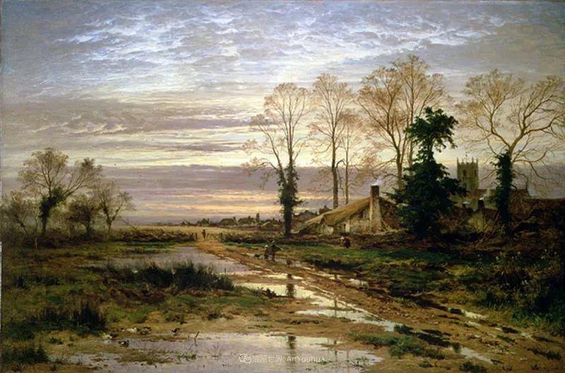 乡野颂歌,横跨两个世纪的著名英国风景画家插图51