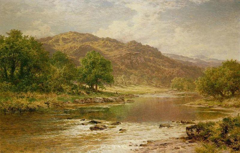 乡野颂歌,横跨两个世纪的著名英国风景画家插图53