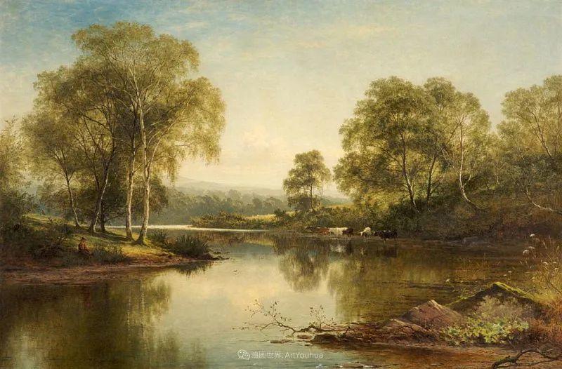 乡野颂歌,横跨两个世纪的著名英国风景画家插图55
