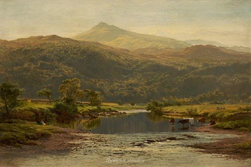 乡野颂歌,横跨两个世纪的著名英国风景画家插图57