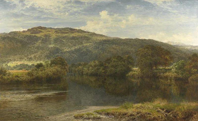乡野颂歌,横跨两个世纪的著名英国风景画家插图61
