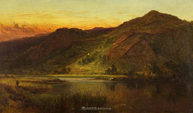 乡野颂歌,横跨两个世纪的著名英国风景画家插图63