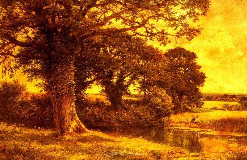 乡野颂歌,横跨两个世纪的著名英国风景画家插图65