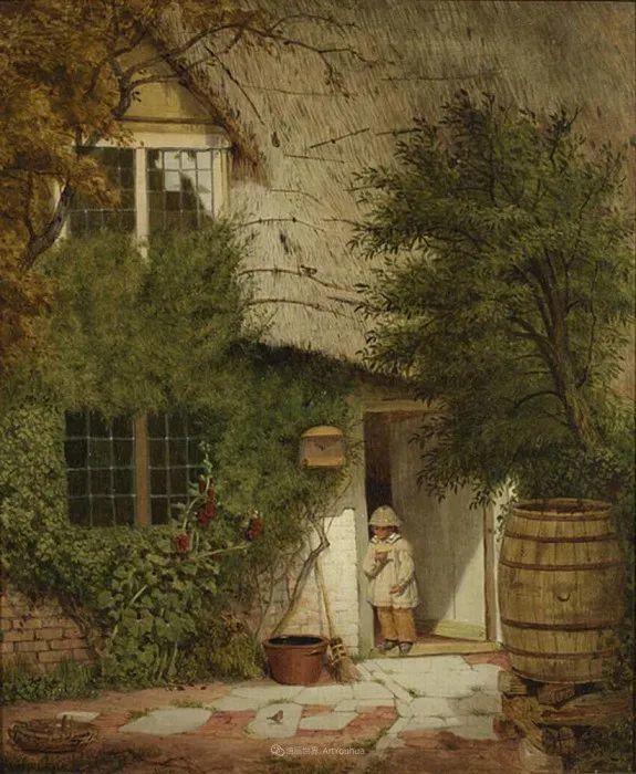 乡野颂歌,横跨两个世纪的著名英国风景画家插图67