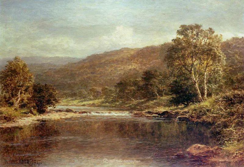 乡野颂歌,横跨两个世纪的著名英国风景画家插图69