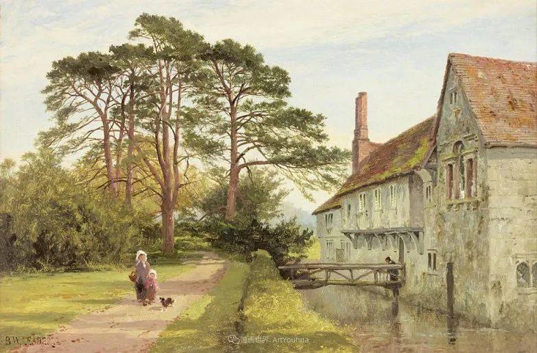 乡野颂歌,横跨两个世纪的著名英国风景画家插图71
