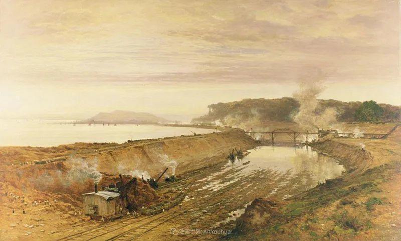 乡野颂歌,横跨两个世纪的著名英国风景画家插图73