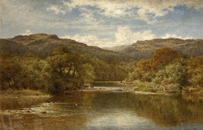 乡野颂歌,横跨两个世纪的著名英国风景画家插图75