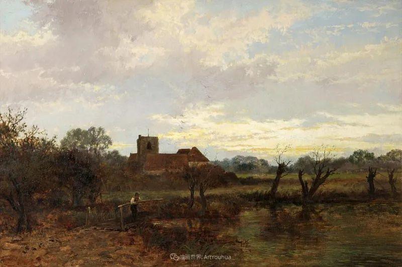 乡野颂歌,横跨两个世纪的著名英国风景画家插图77