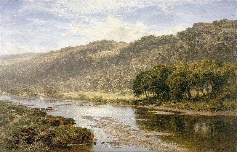 乡野颂歌,横跨两个世纪的著名英国风景画家插图79