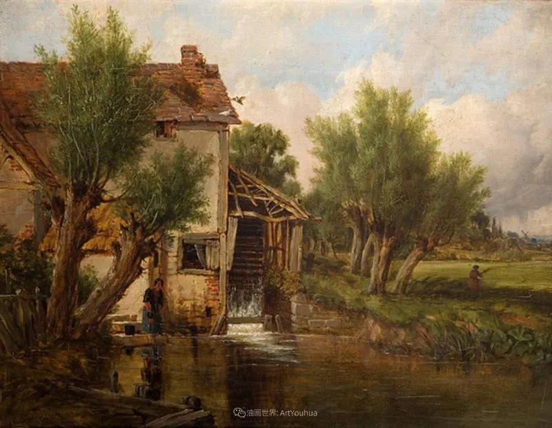 乡野颂歌,横跨两个世纪的著名英国风景画家插图81