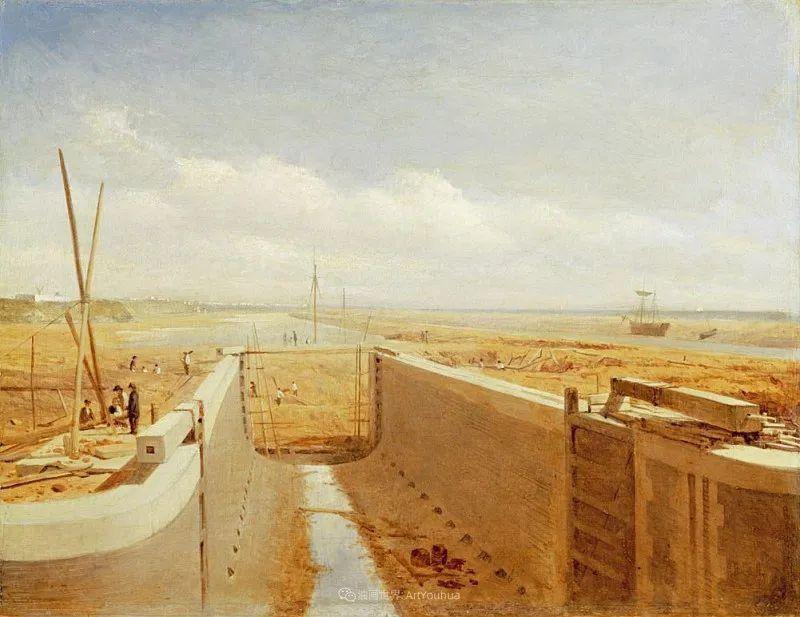 乡野颂歌,横跨两个世纪的著名英国风景画家插图83