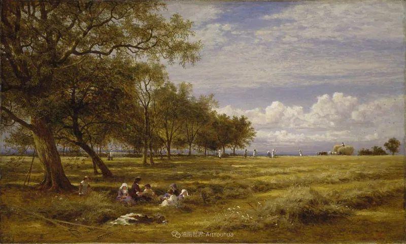 乡野颂歌,横跨两个世纪的著名英国风景画家插图85