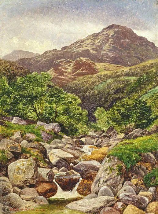 乡野颂歌,横跨两个世纪的著名英国风景画家插图87