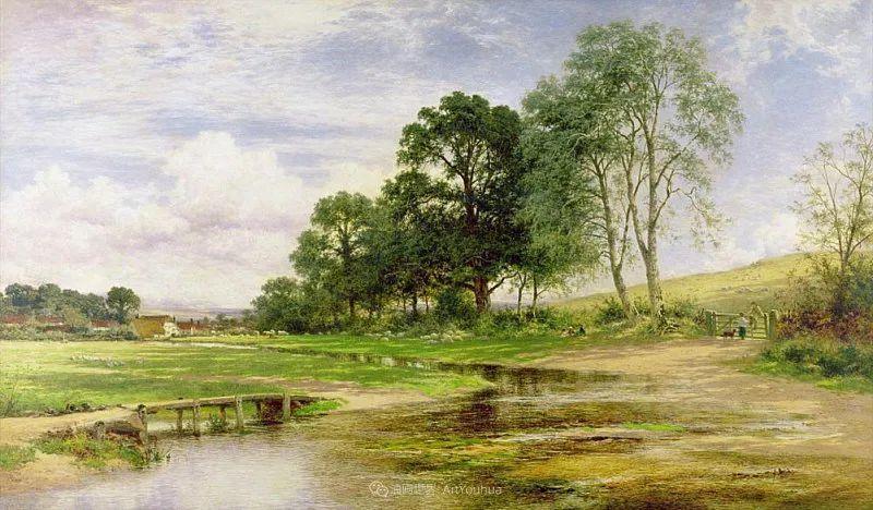 乡野颂歌,横跨两个世纪的著名英国风景画家插图89