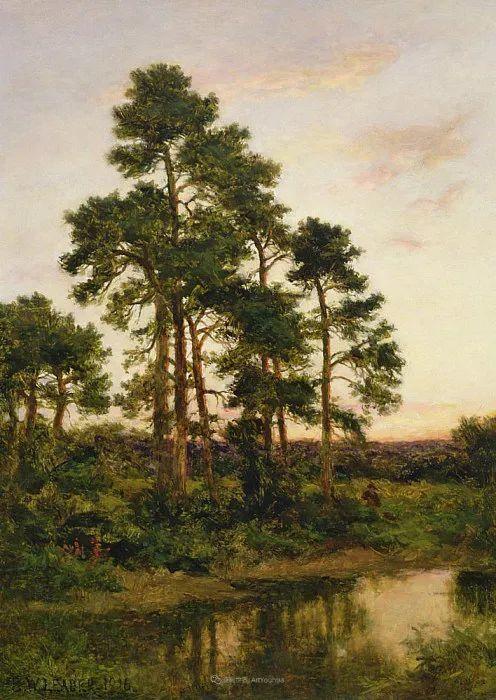 乡野颂歌,横跨两个世纪的著名英国风景画家插图91