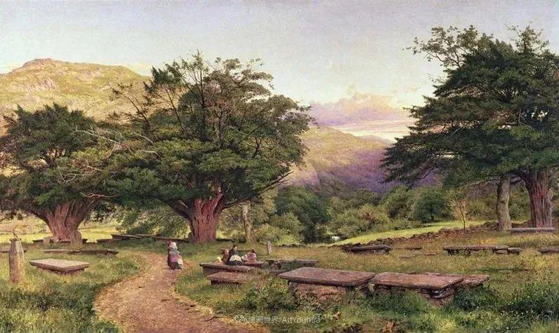 乡野颂歌,横跨两个世纪的著名英国风景画家插图93