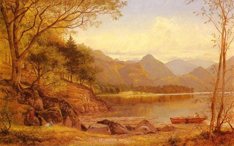 乡野颂歌,横跨两个世纪的著名英国风景画家插图95