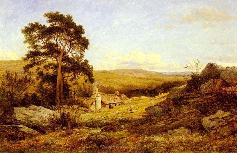 乡野颂歌,横跨两个世纪的著名英国风景画家插图97