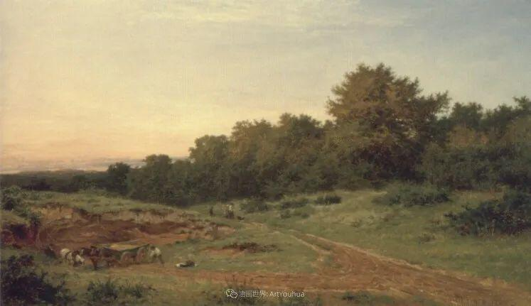 乡野颂歌,横跨两个世纪的著名英国风景画家插图99