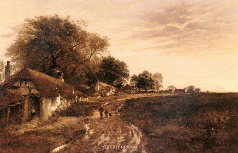 乡野颂歌,横跨两个世纪的著名英国风景画家插图101