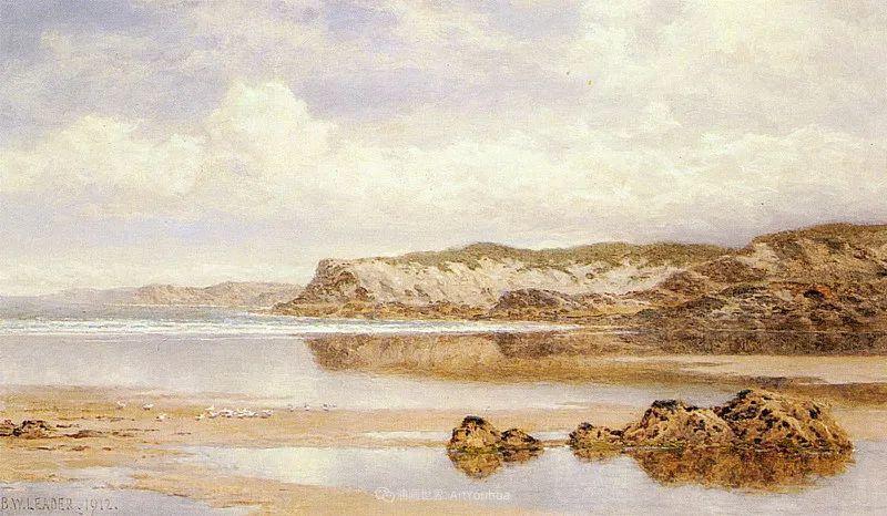 乡野颂歌,横跨两个世纪的著名英国风景画家插图103
