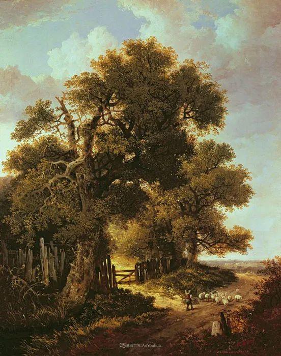乡野颂歌,横跨两个世纪的著名英国风景画家插图105