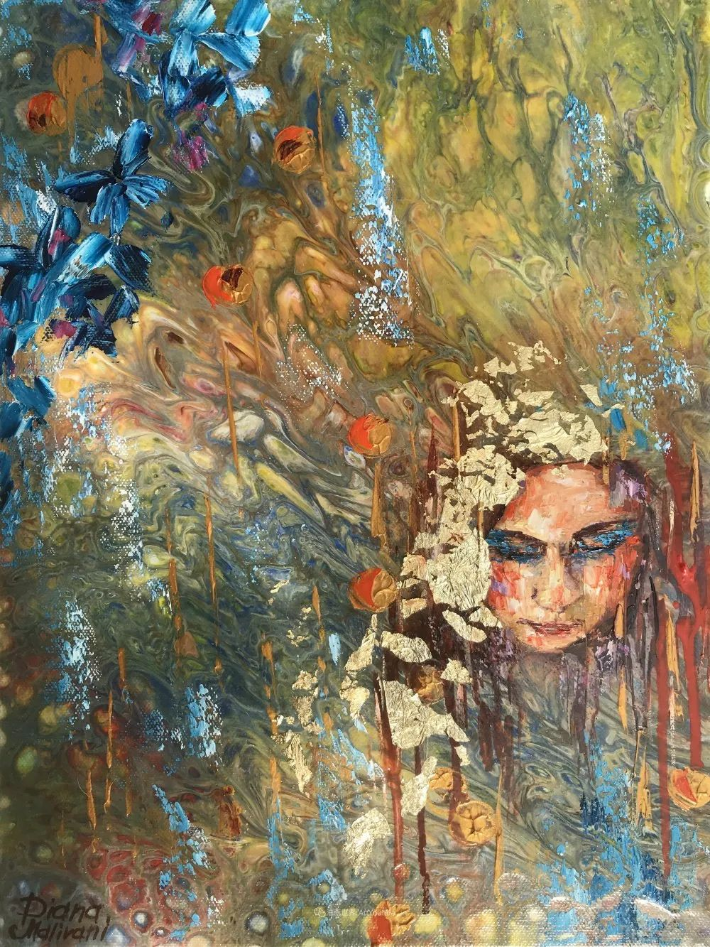 她深信绘画像音乐一样,可以治愈精神创伤!插图29