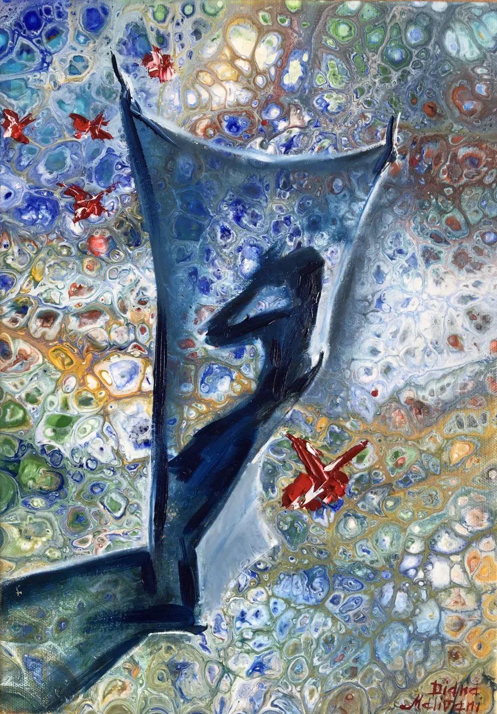她深信绘画像音乐一样,可以治愈精神创伤!插图33