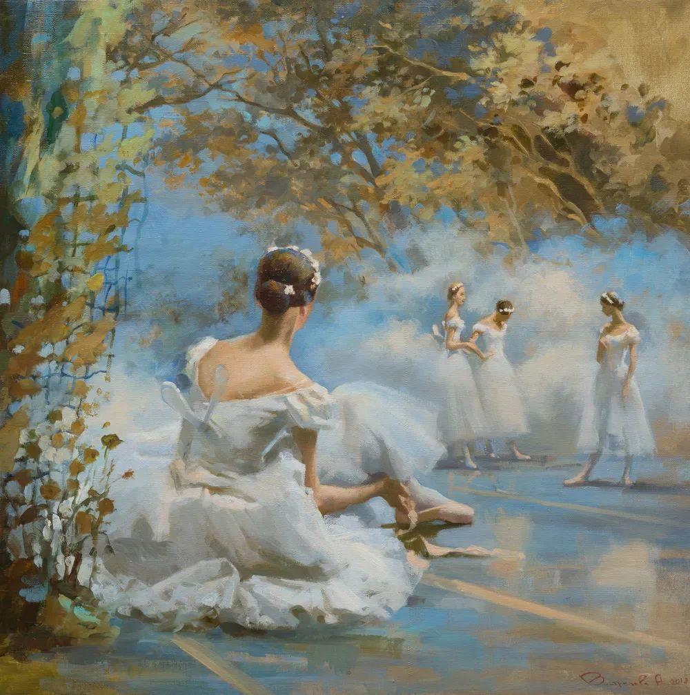 她油画里的芭蕾,又仙又美!插图