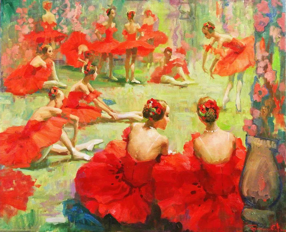 她油画里的芭蕾,又仙又美!插图1