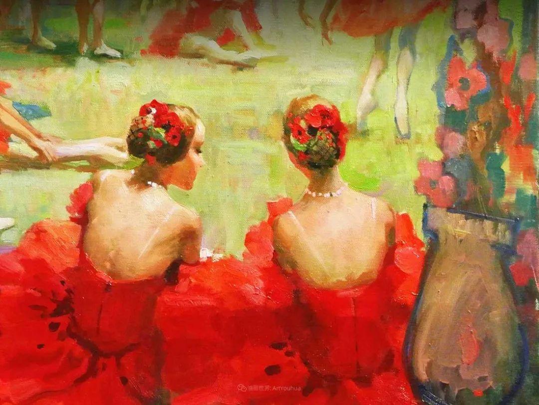 她油画里的芭蕾,又仙又美!插图2