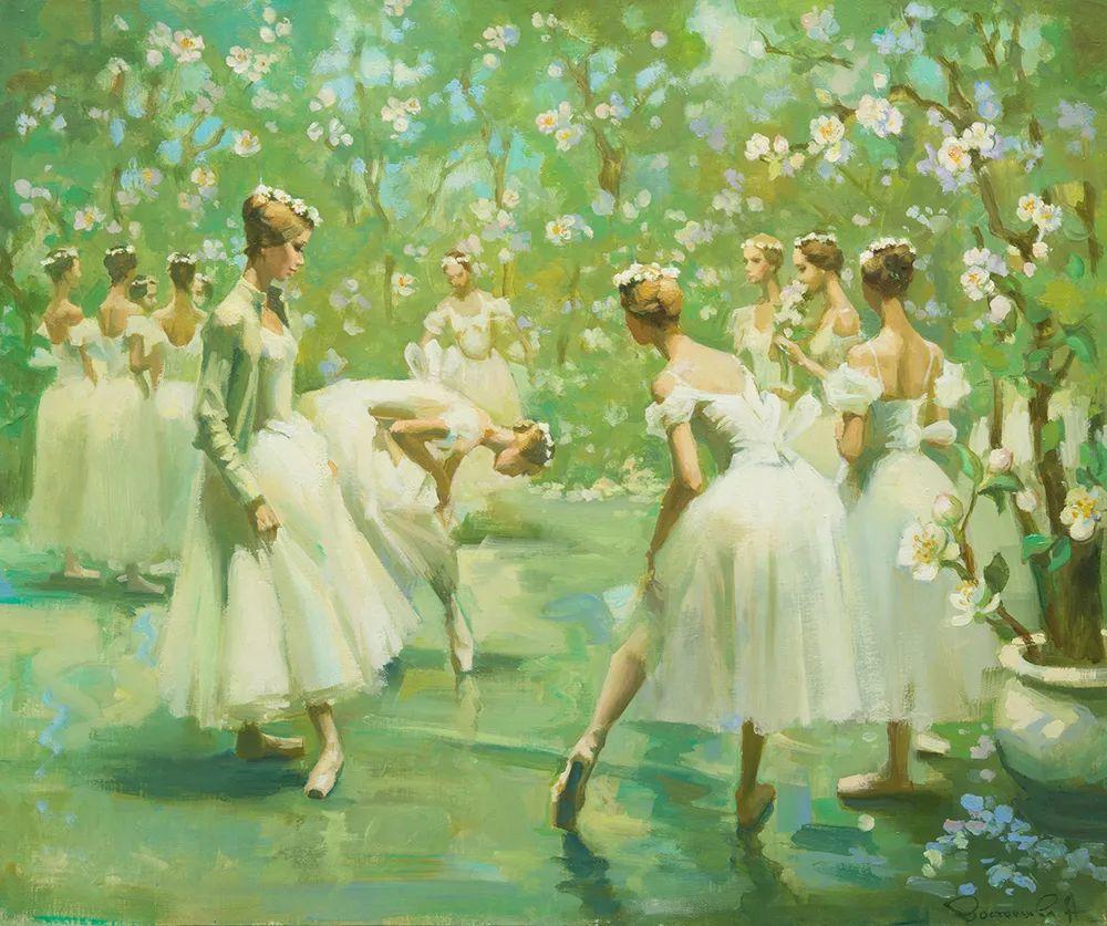 她油画里的芭蕾,又仙又美!插图3