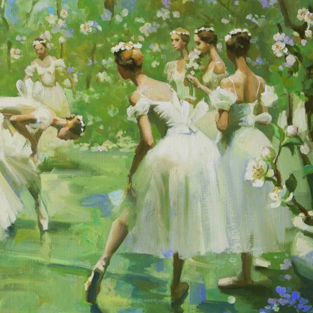 她油画里的芭蕾,又仙又美!插图4