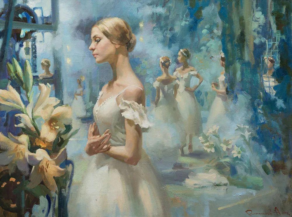 她油画里的芭蕾,又仙又美!插图7