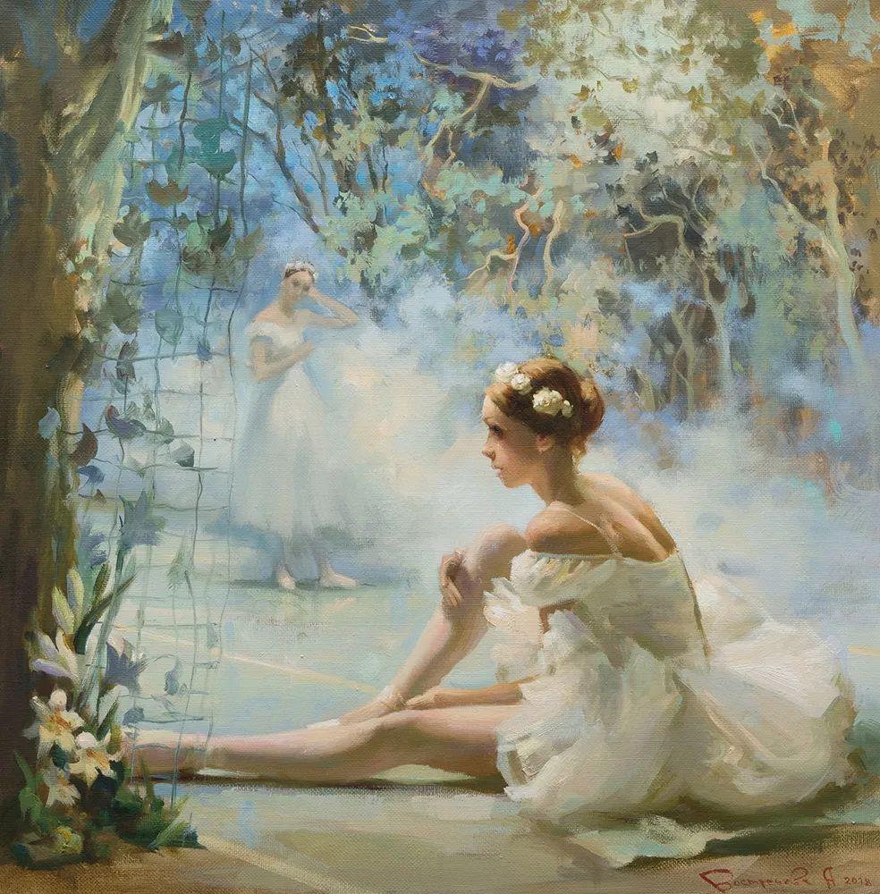 她油画里的芭蕾,又仙又美!插图8