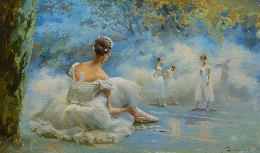 她油画里的芭蕾,又仙又美!插图9