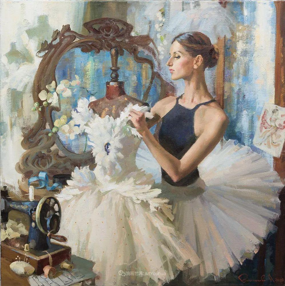 她油画里的芭蕾,又仙又美!插图11