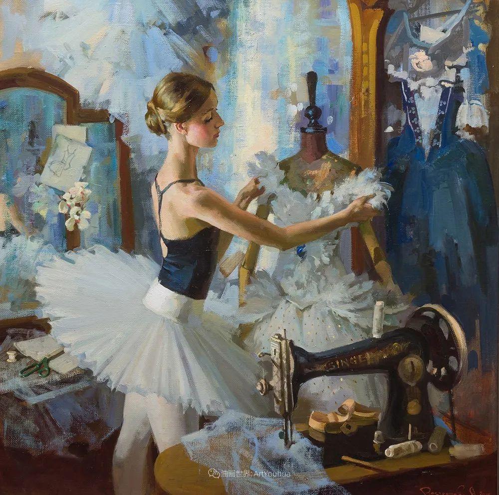 她油画里的芭蕾,又仙又美!插图12