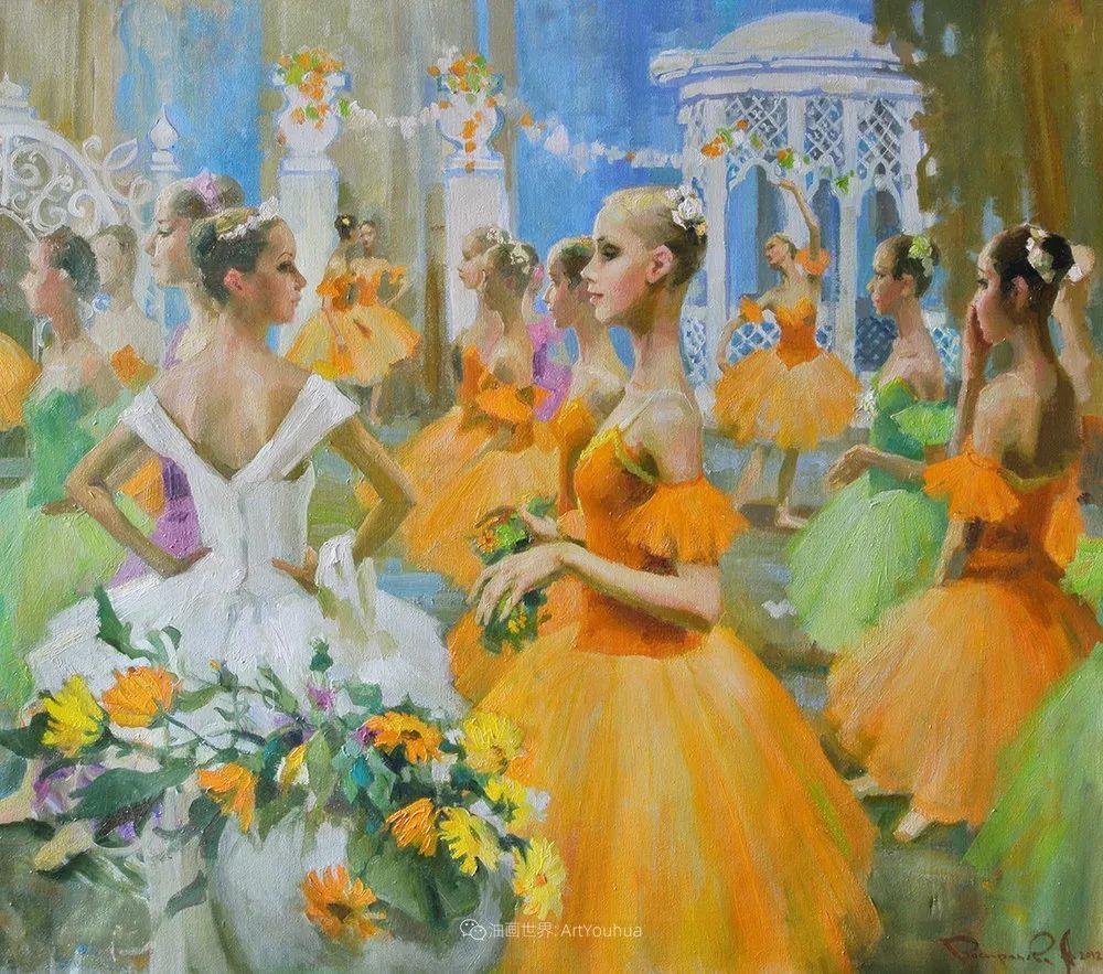她油画里的芭蕾,又仙又美!插图13