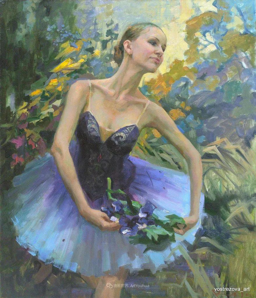 她油画里的芭蕾,又仙又美!插图14