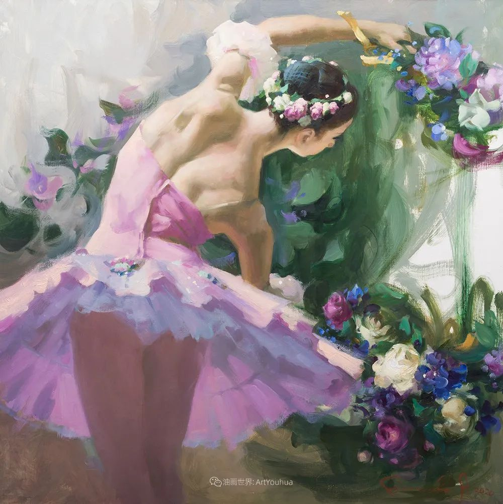 她油画里的芭蕾,又仙又美!插图15