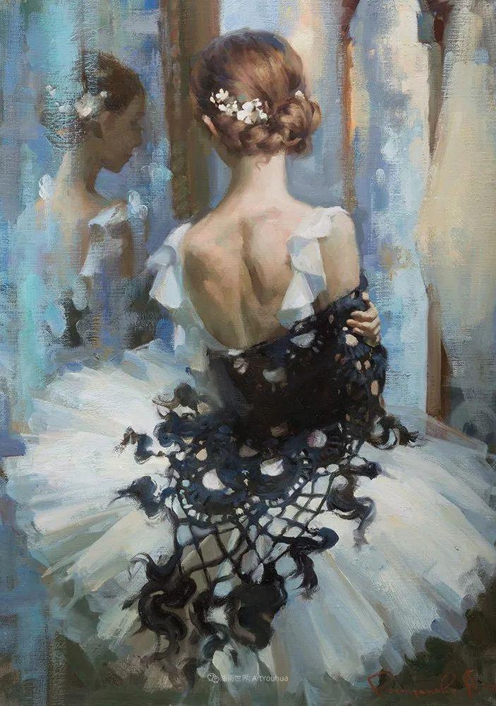 她油画里的芭蕾,又仙又美!插图16