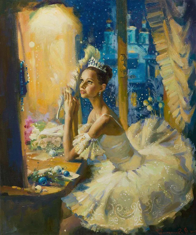 她油画里的芭蕾,又仙又美!插图19
