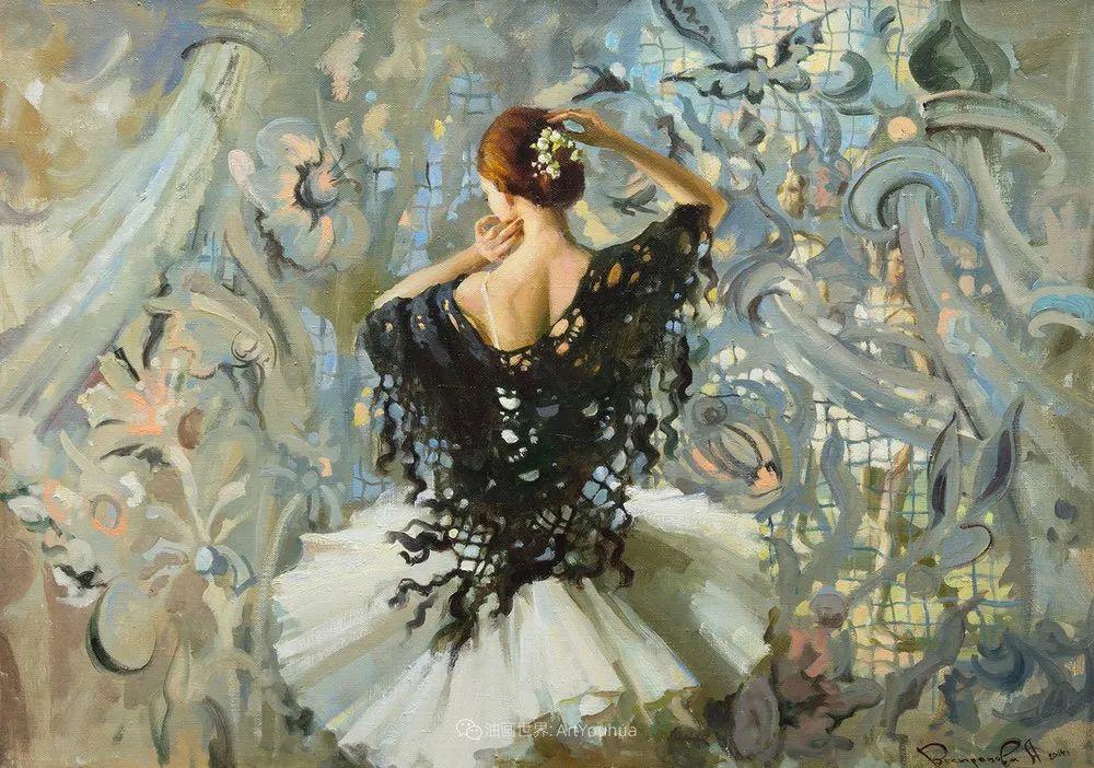她油画里的芭蕾,又仙又美!插图21