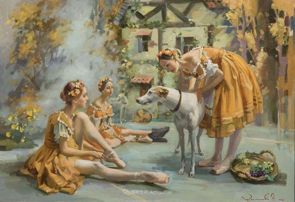 她油画里的芭蕾,又仙又美!插图23