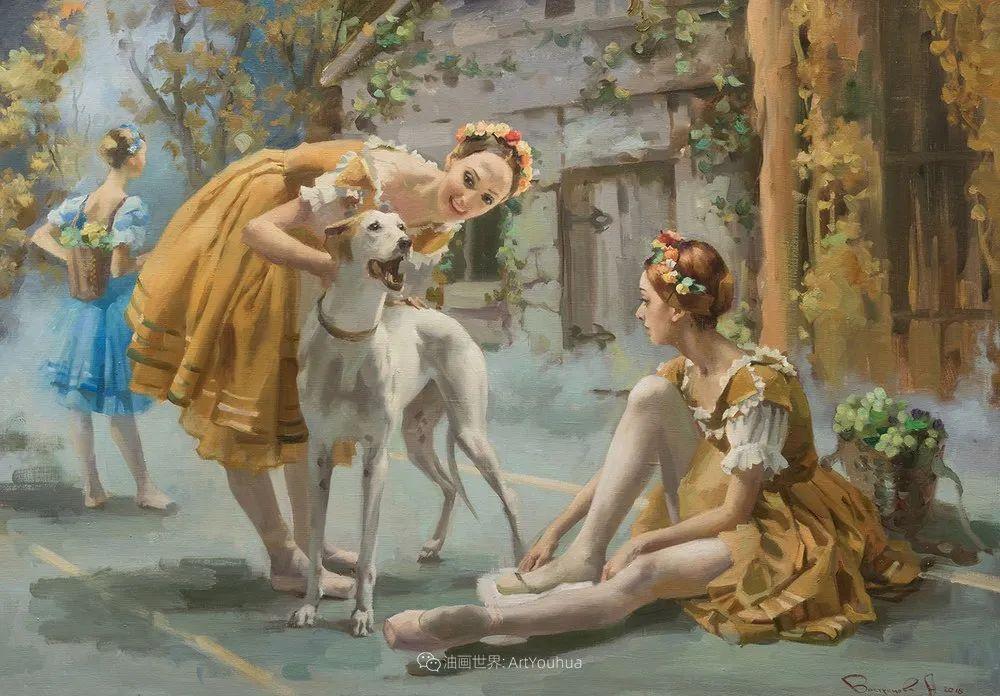 她油画里的芭蕾,又仙又美!插图24